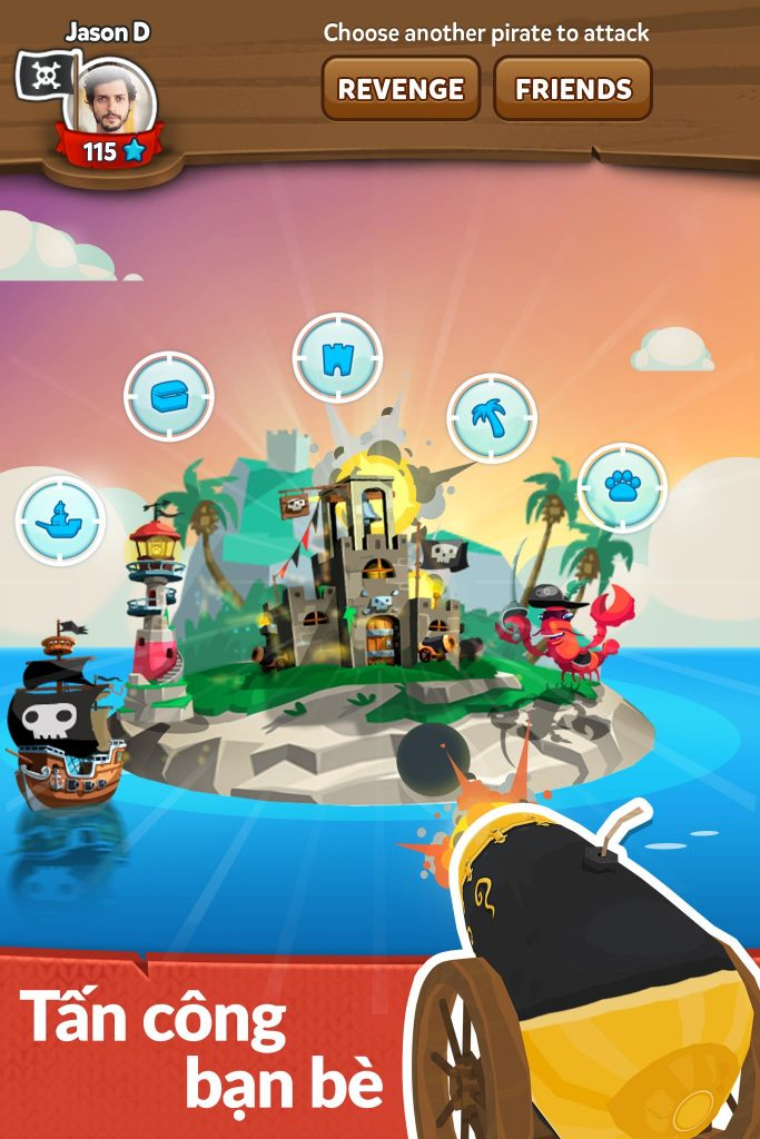 hack Pirate Kings mod lượt quay