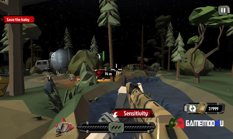 Tựa game hack The Walking Zombie 2: Zombie shooter mod full tiền đã được mình test