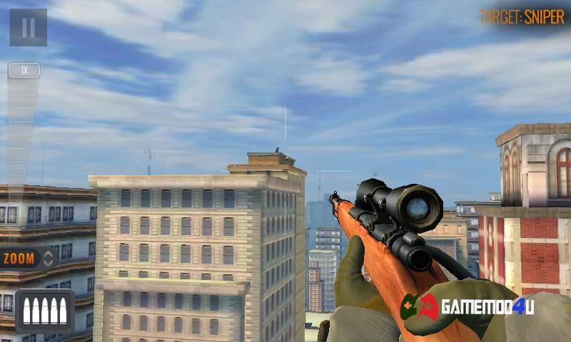 Tựa game bắn súng Sniper 3D Assassin đã được mình test trên điện thoại