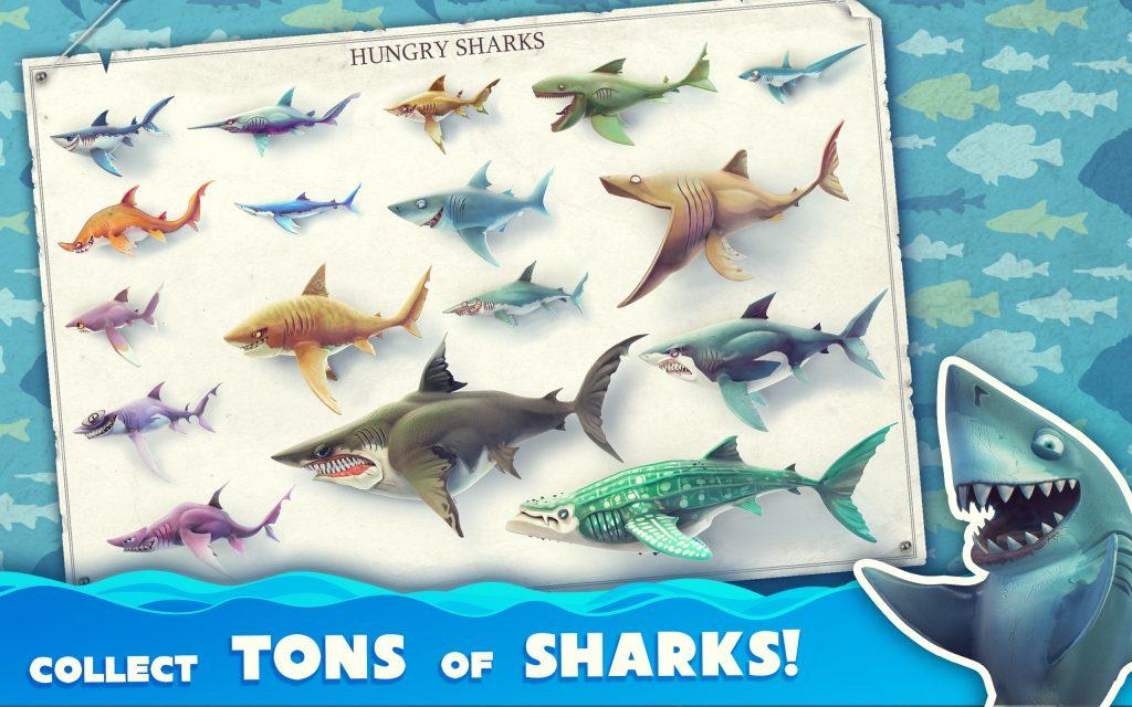 Thông tin về tựa game Hungry Shark World dành cho điện thoại Android