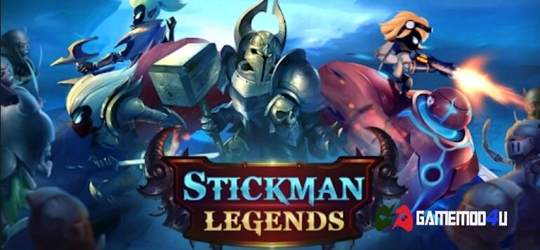Hack Stickman Legends Mod Full tiền - GameMod4u