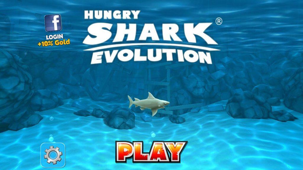hack Hungry Shark Evolution Mod full tiền dành cho điện thoại
