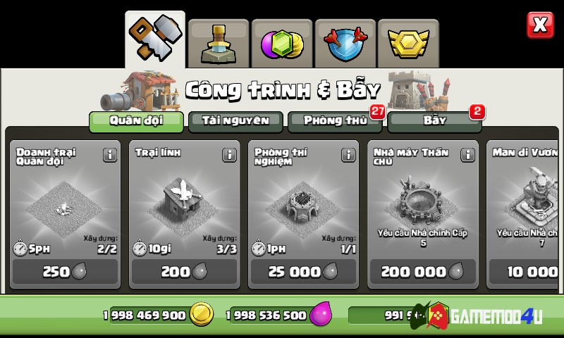 clash hack shop
