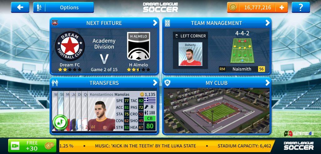 Dream League Soccer hack full tiền