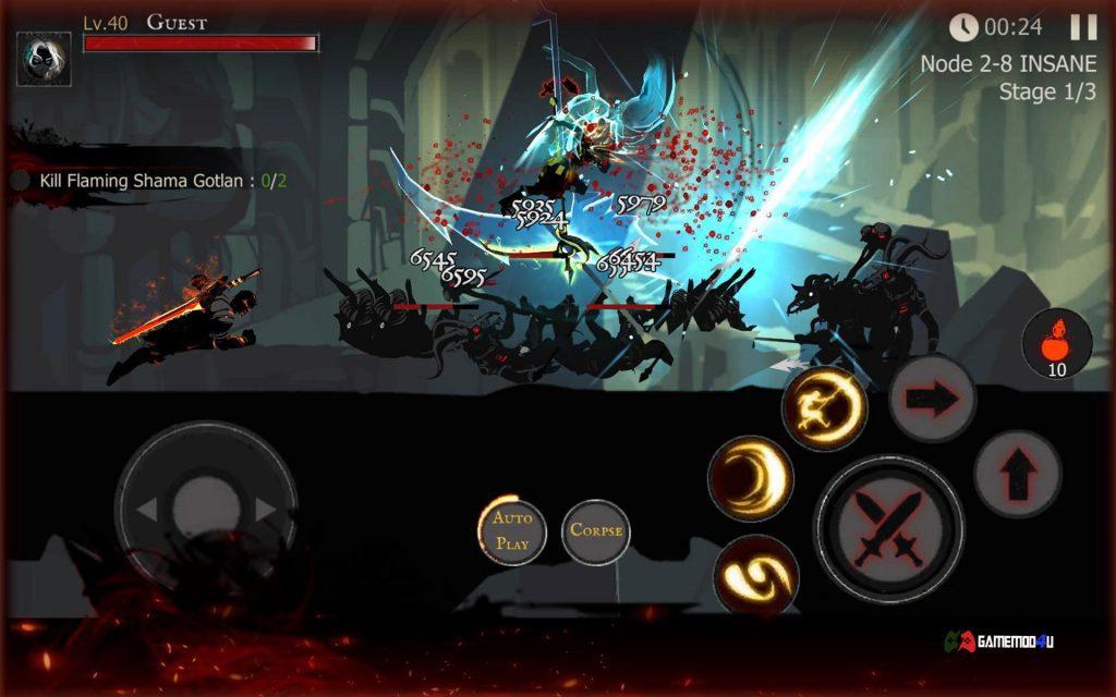 Shadow of Death Hack v1.100.3.0 Full [Mod Crystals/Souls]
