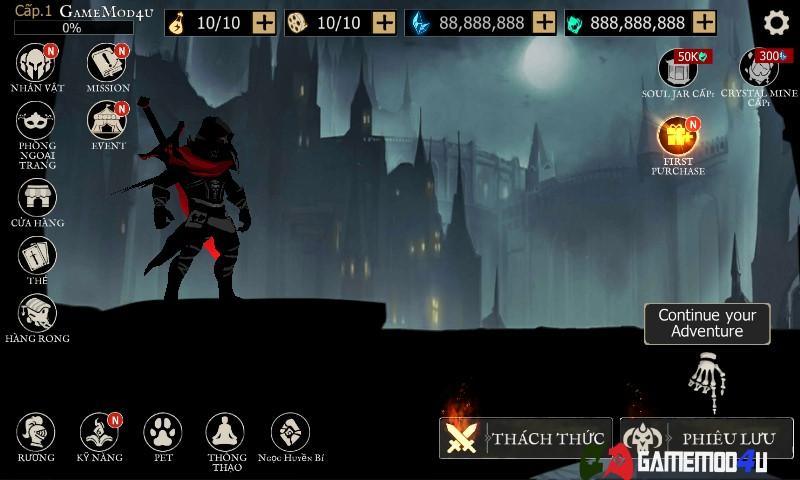 Shadow of Death hack