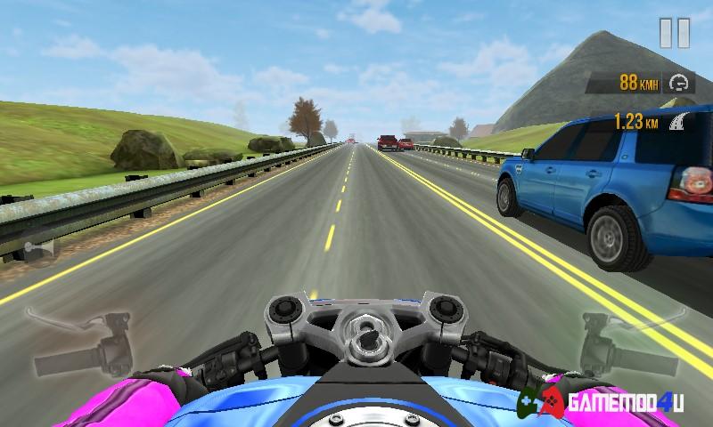 Traffic Rider Hack v1.61 Full tiền cho Android (Mod money)