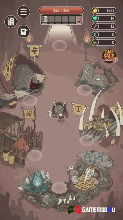 Hình ảnh trong tựa game Wild Tamer hack full tiền đã được mình test