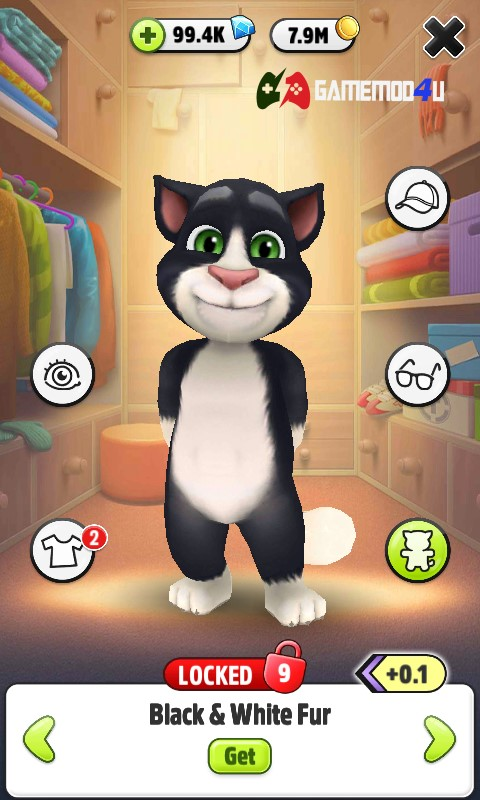 My Talking Tom hack shop