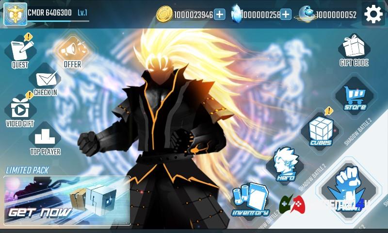 Shadow Battle Hack v2.2.55 Full tiền [Mod Ultimate money]