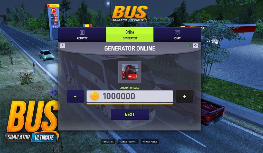 mua full xe với bản Bus Simulator mod full tiền