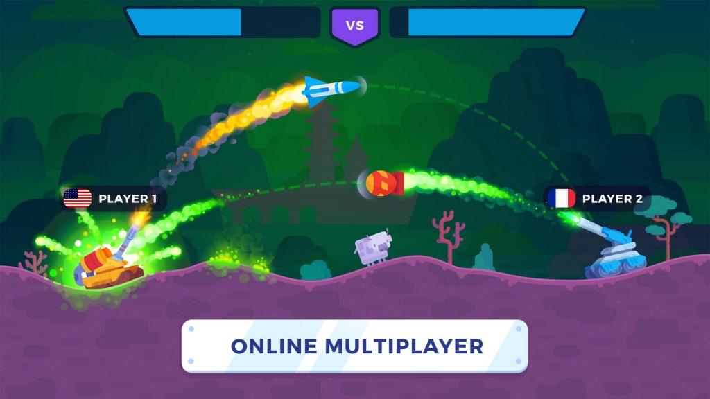 Tank Stars online multiplayer