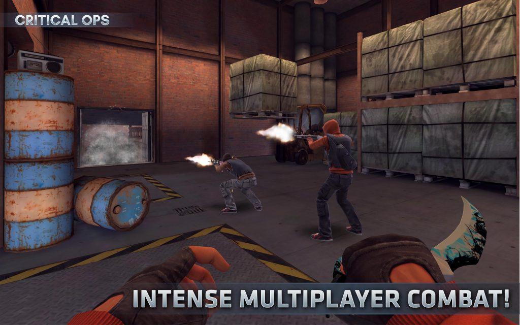 Tựa game Critical Ops hack bắn súng Multiplayer FPS vô cùng hay và thú vị luôn