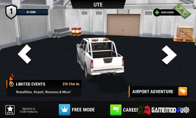 Đã test Drive Simulator hack full tiền trên điện thoại Android