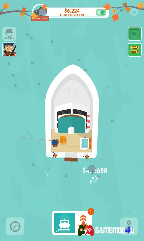 Hooked Inc Fisher Tycoon Hack v2.20.0 Full tiền (Mod tiền)