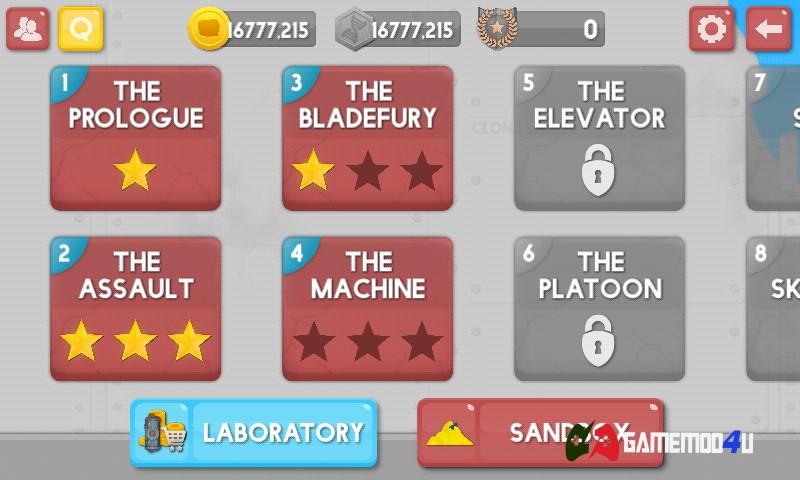 Đã test tựa game Clone Armies hack full tiền trên điện thoại Android rồi nhé