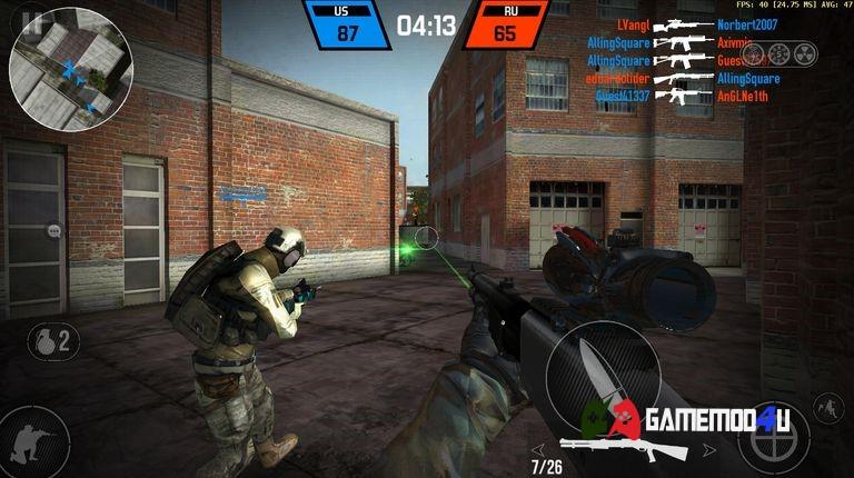 Tải Bullet Force Hack v1.80.0 Full đạn (Mod vô hạn đạn)