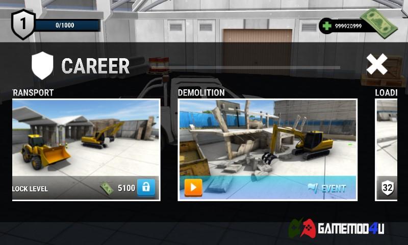 Chế độ chơi và một số event trong game Drive Simulator