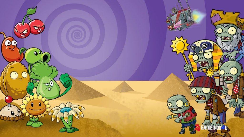 Tựa game Plants vs Zombies 2 vô cùng hay và thú vị
