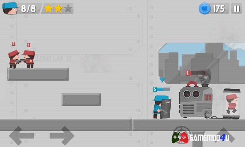 Hình ảnh trong game Clone Armies