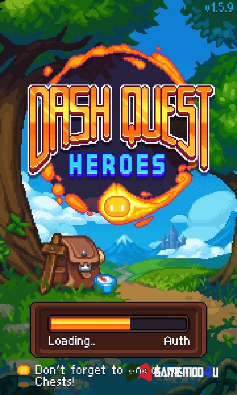 Dash Quest Heroes Hack v1.5.16 Full (God Mod)