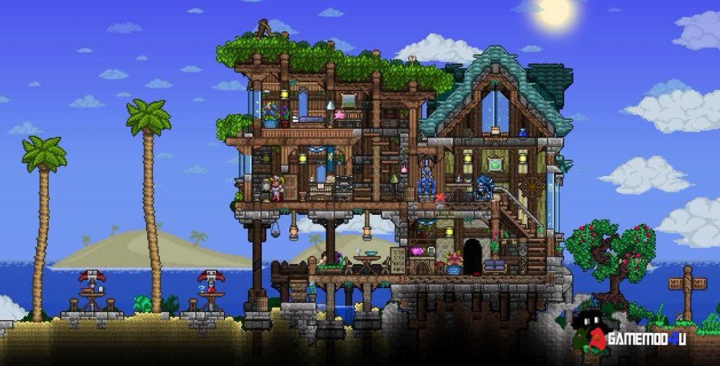 Xây dựng world của riêng mình trong Terraria mobile