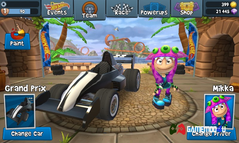 Đã test tựa game hack Beach Buggy Racing 2 full tiền