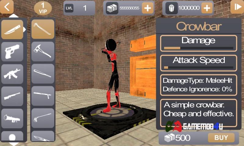 Đã test tựa game hack Stickman Rope Hero 2 full tiền cho Android (mod money) rồi nhé