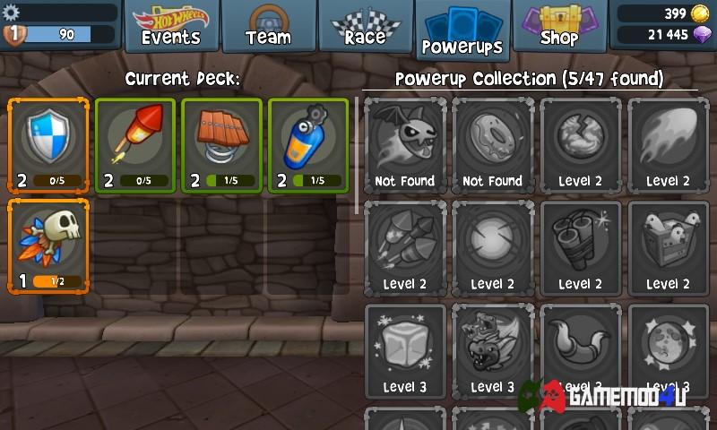 Tính năng vật phẩm trong game hack Beach Buggy Racing 2 full tiền