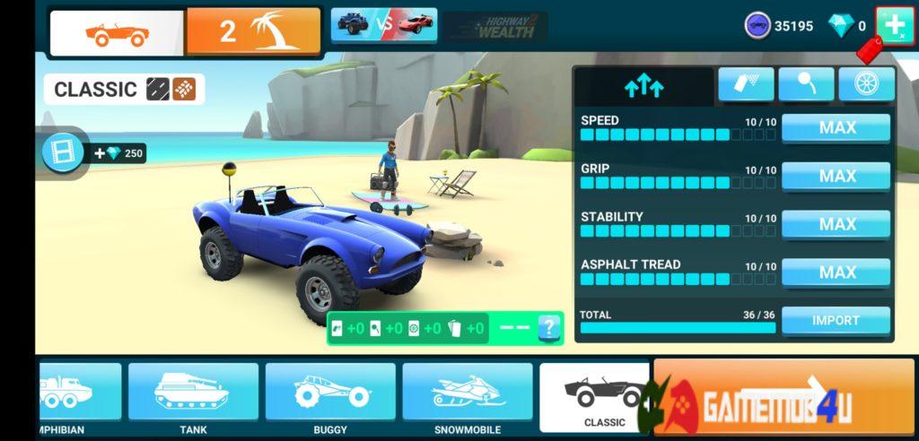 Đã test tựa game MMX Hill Dash 2 hack full tiền cho Android