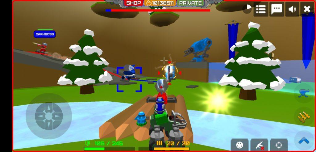Hình ảnh trong game Armored Squad hack full tiền