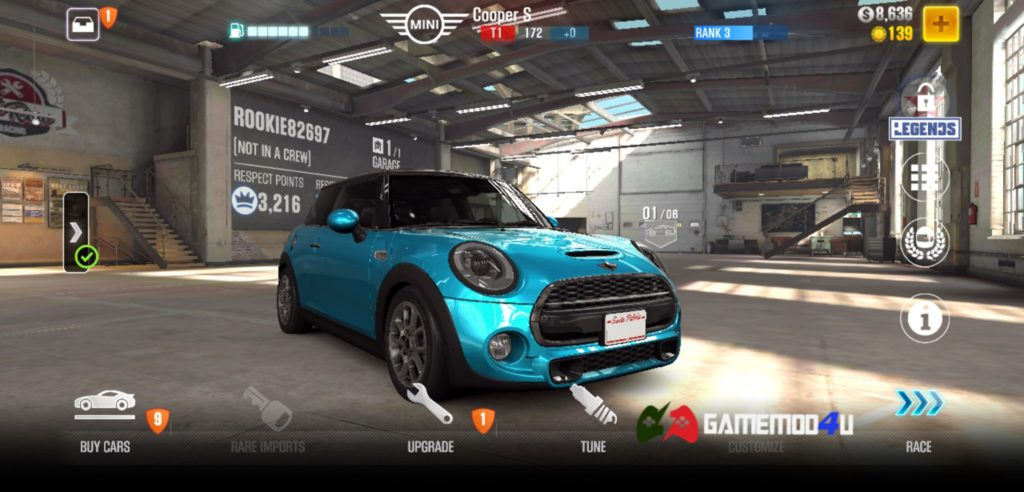 CSR Racing 2 Hack v2.18.3 Full tiền (Mod Free Shopping)