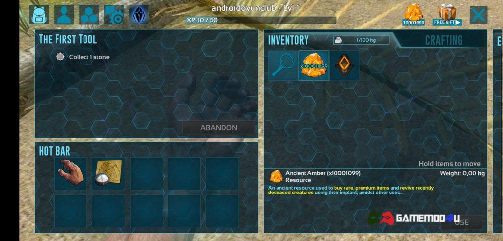 Hình ảnh game ARK Survival Evolved mod full tiền