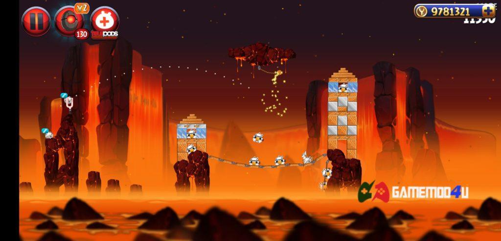 Angry Birds Star Wars II Free Hack v1.9.25 APK Full tiền