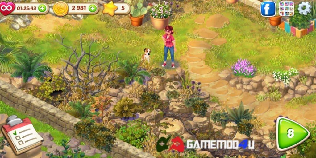 Đã test tựa game Lily's Garden hack full tiền và sao trên điện thoại Android