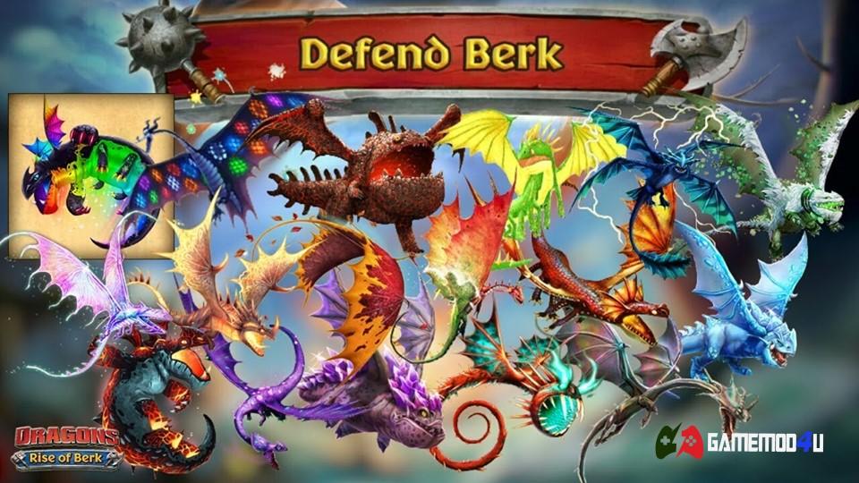 Dragons Rise of Berk Hack v1.55.14 Full tiền (Mod money)