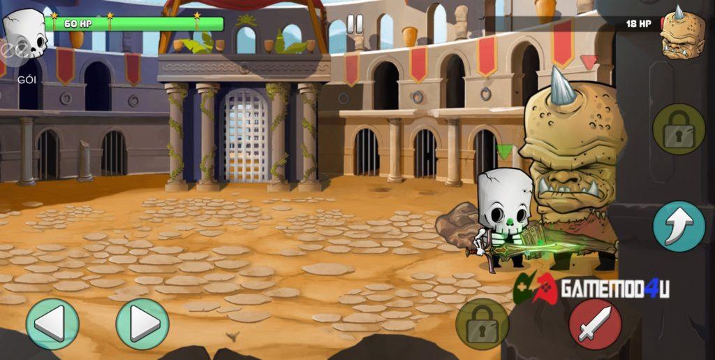Hình ảnh Tiny Gladiators hack menu mod bot câm