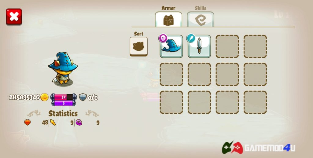 Hình ảnh trong game Cat Quest mod full tiền