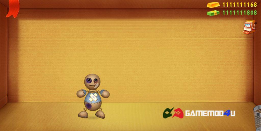 Hình ảnh trong game Kick the Buddy hack full tiền cho điện thoại Android