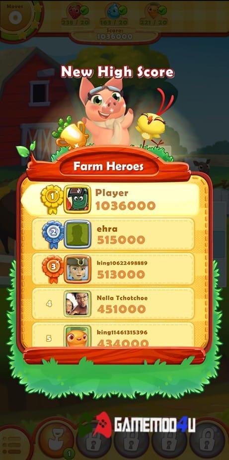 Farm Heroes Saga Hack Full lives (Mod vô hạn lives)