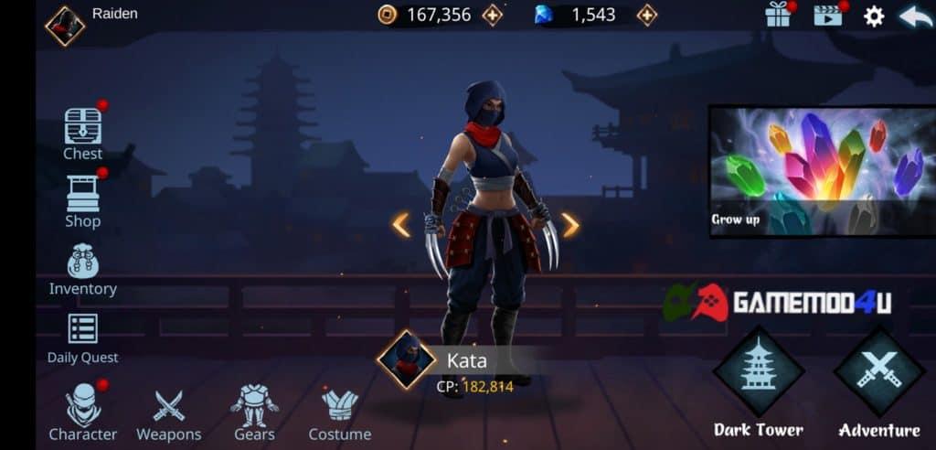 Đã chiến thử con game Ninja Raiden Revenge mod full tiền này