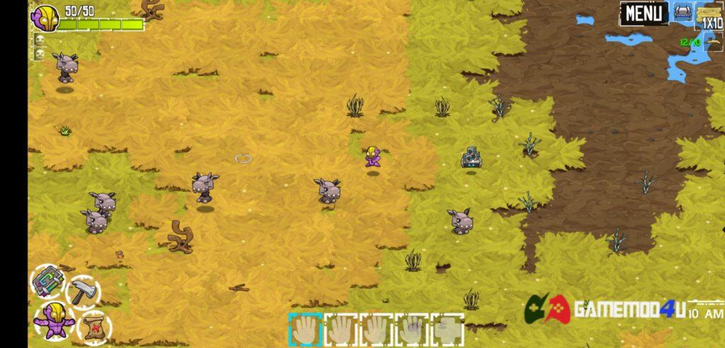 Hình ảnh trong game Crashlands apk mod full cho điện thoại Android