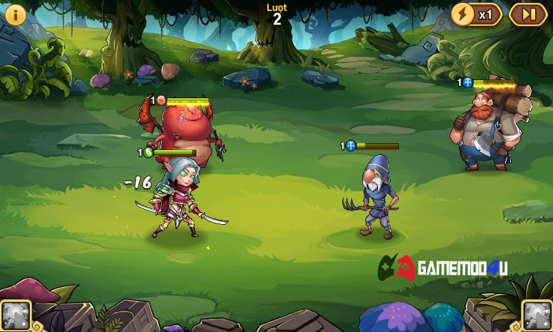 Idle Heroes Hack v1.23 Full cho Android (Mod VIP)