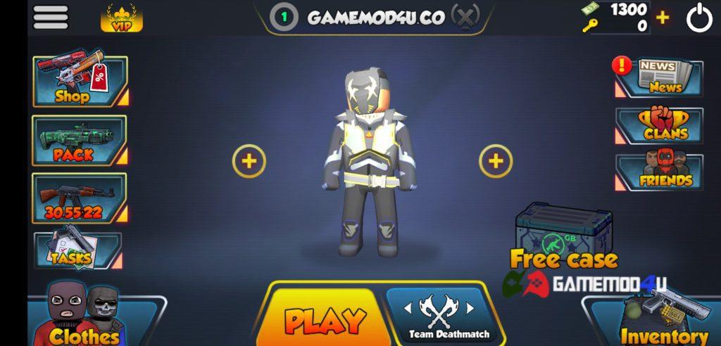 Skin đắt tiền nhất trong game KUBOOM 3D mod full skins