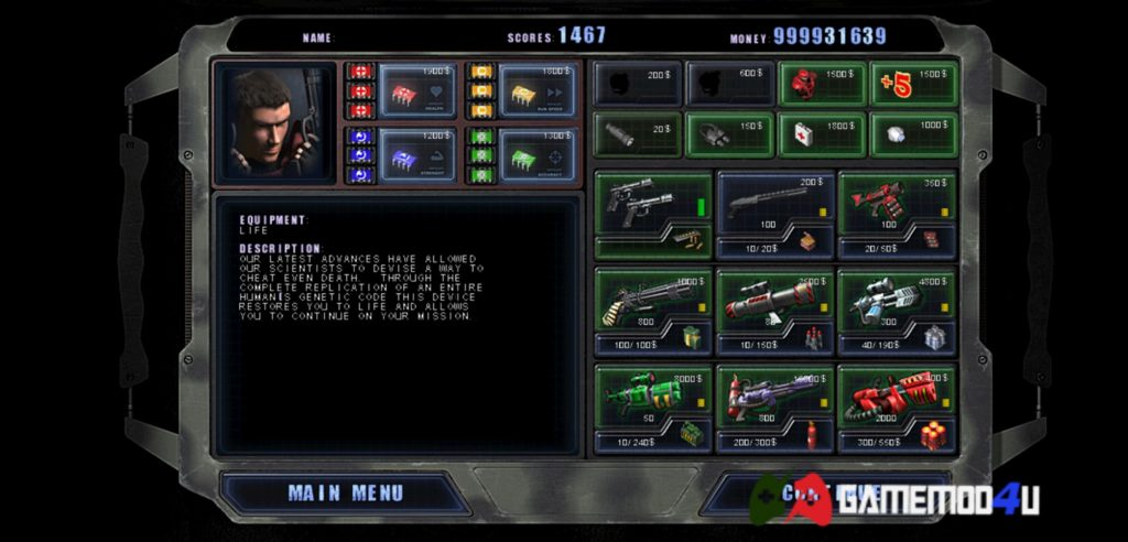Đã test game Alien Shooter mod full tiền cho điện thoại Android