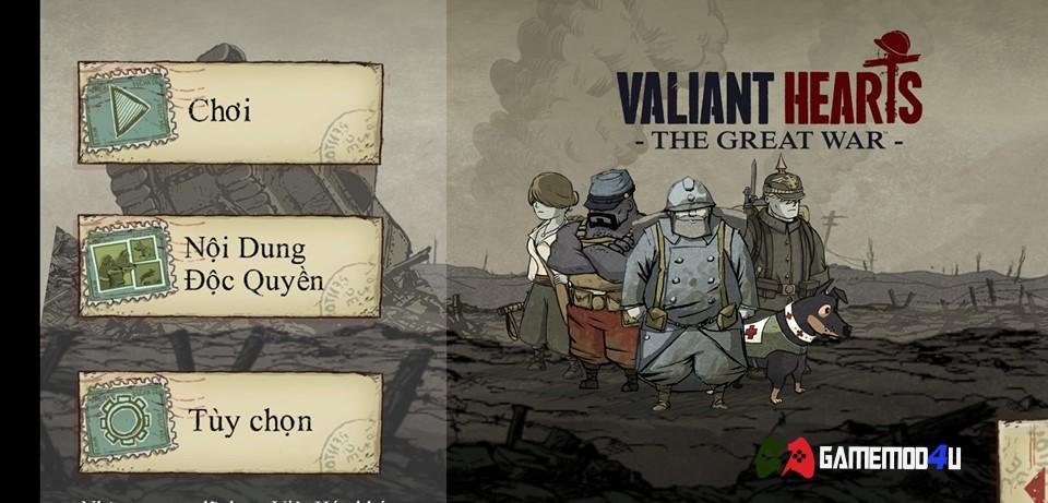 Đã test game Valiant Hearts The Great War mod full việt hóa