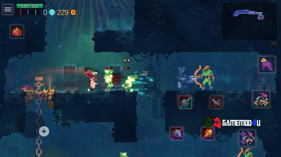 Hình ảnh trong game Dead Cells mod apk full