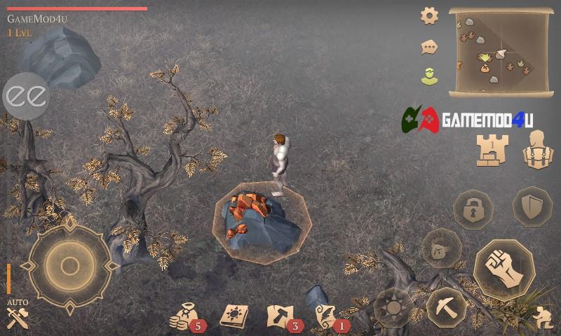 Hình ảnh trong game Grim Soul mod menu apk full