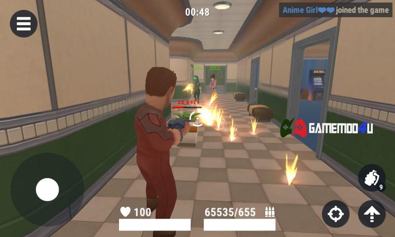 Hình ảnh trong game Hide Online mod full đạn phe Hunters