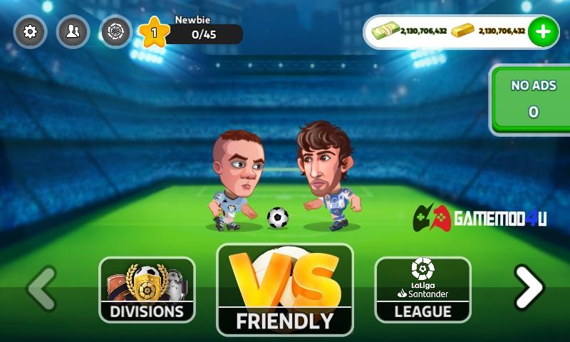 Đã test game Head Soccer LaLiga 2020 mod full tiền
